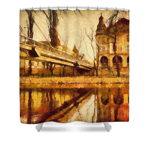 Oradea Chris River Shower Curtain