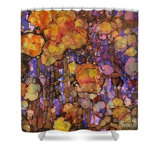 Passion Poppies Shower Curtain