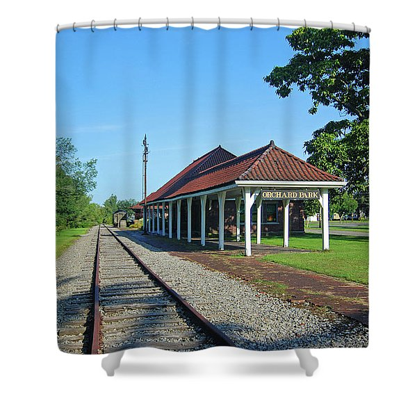 Orchard Park 1004 Shower Curtain