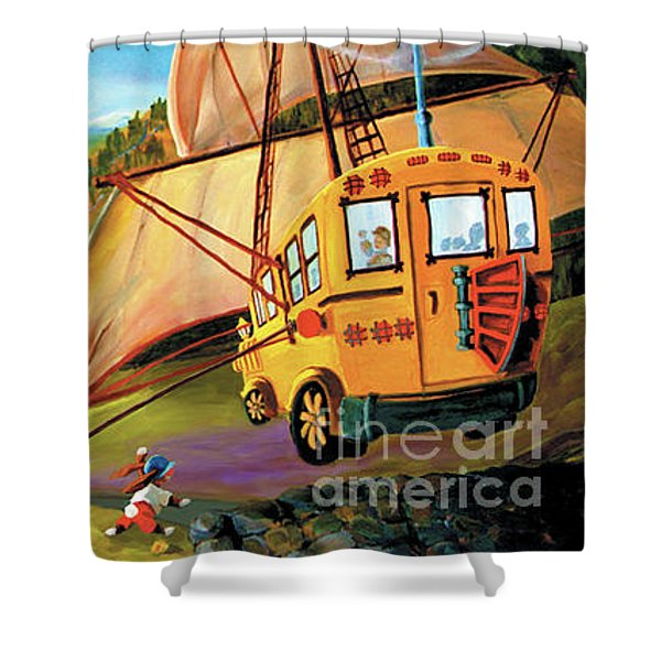 Orchard Valley Shower Curtain