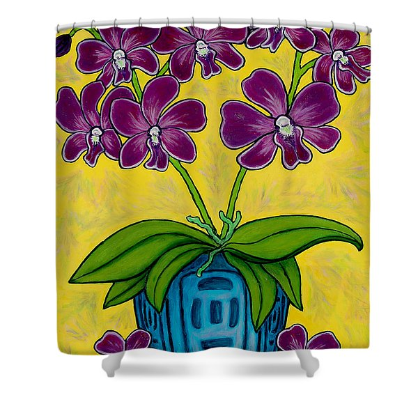 Orchid Delight Shower Curtain