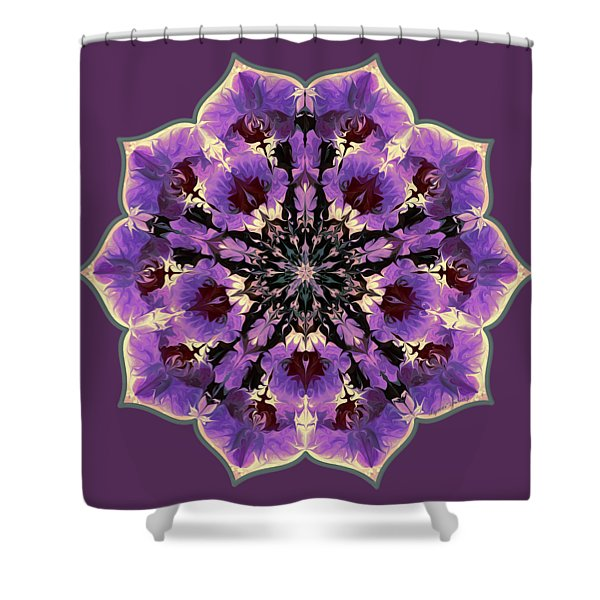 Orchid Lotus Shower Curtain
