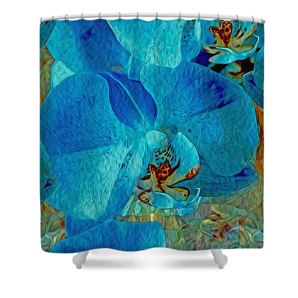 Orchid Reverie 10 Shower Curtain