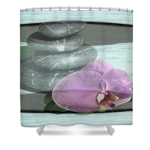 Orchid Tranquility Shower Curtain