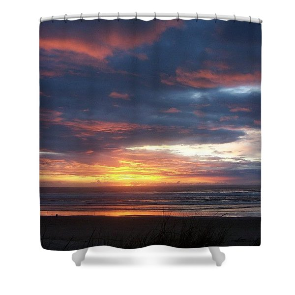 Oregon Coast 11 Shower Curtain