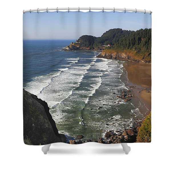 Oregon Coast No 1 Shower Curtain