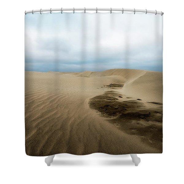 Oregon Dune Wasteland 1 Shower Curtain