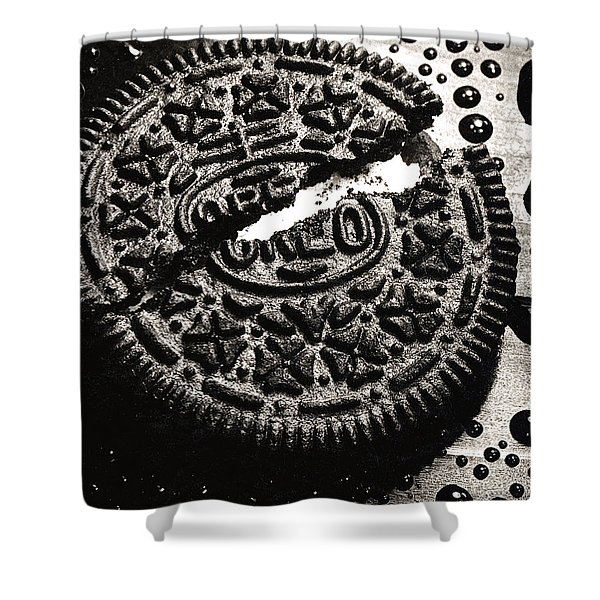 Oreo Cookie Shower Curtain