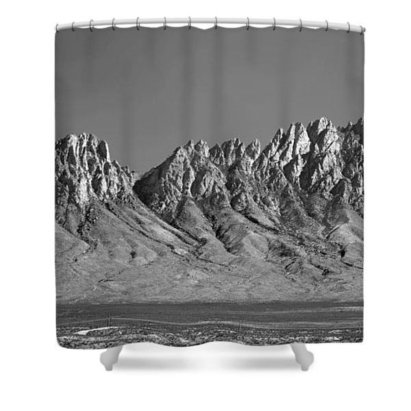 214878-organ Mountains Panorama     Shower Curtain