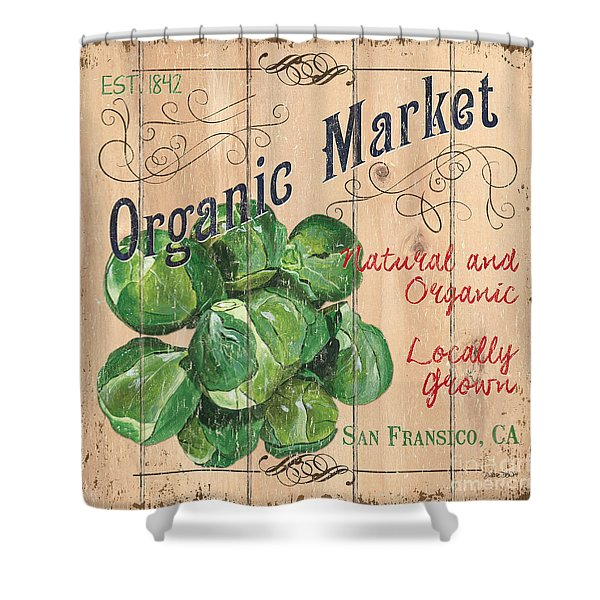 Organic Market Shower Curtain