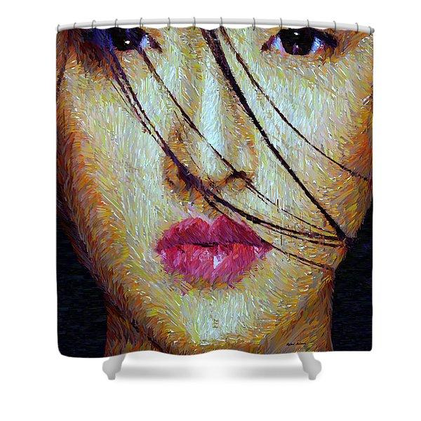 Oriental Expression 0701 Shower Curtain