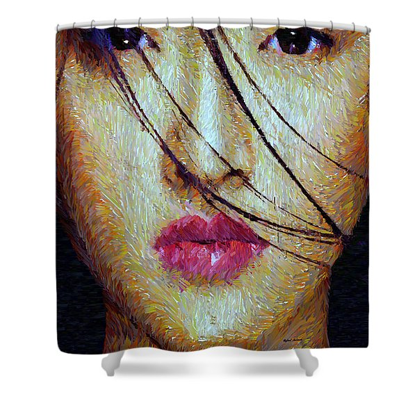 Oriental Expression 0701 Shower Curtain