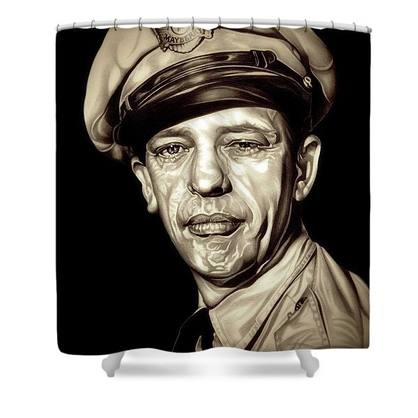 Original Barney Fife Shower Curtain