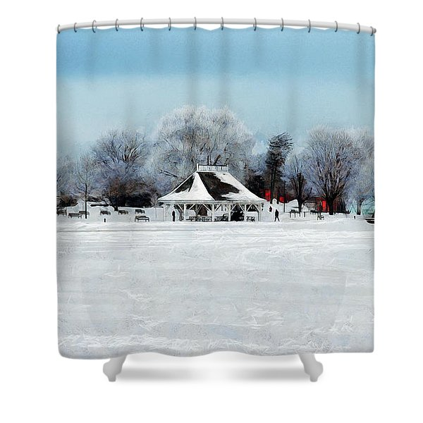 Orillia Winter Shower Curtain