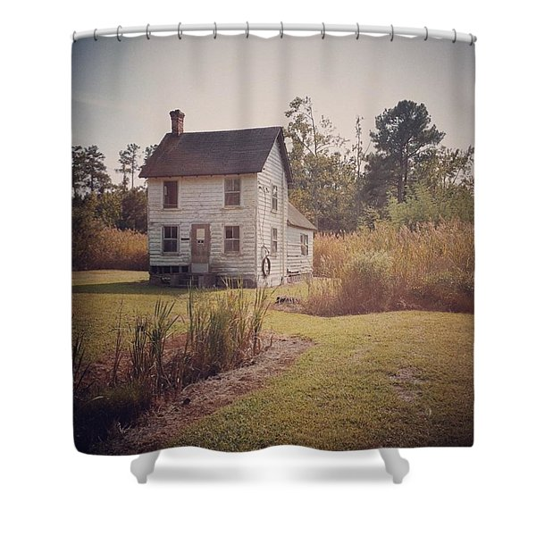 House, Oriole, Md Shower Curtain