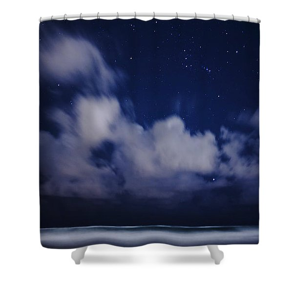 Orion Beach Shower Curtain