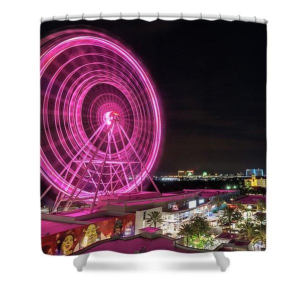 Orlando Eye Shower Curtain