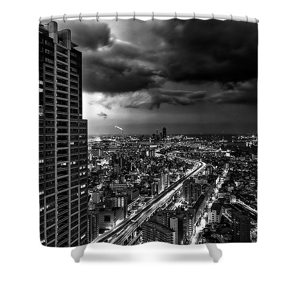 Osaka Shower Curtain