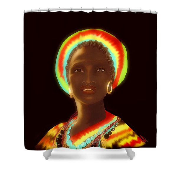 Osumare Shower Curtain