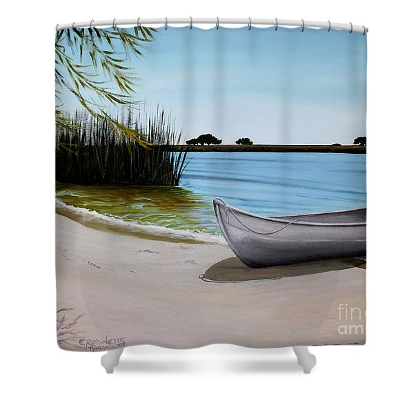 Our Beach Shower Curtain