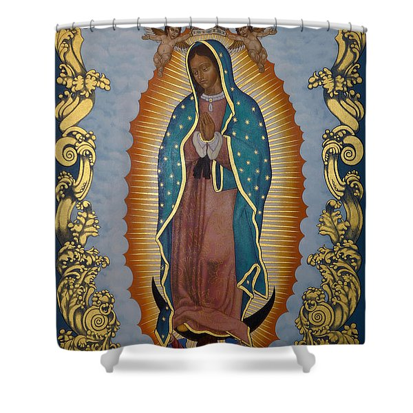 Our Lady Of Guadalupe - Lwlgl Shower Curtain