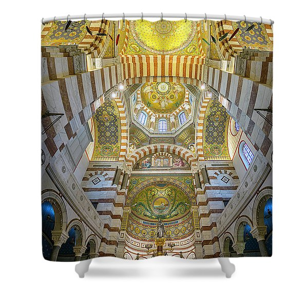 Our Lady Of The Guard Shower Curtain