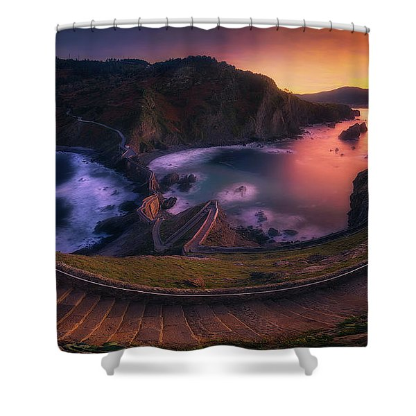 Our Small Wall Of China Shower Curtain