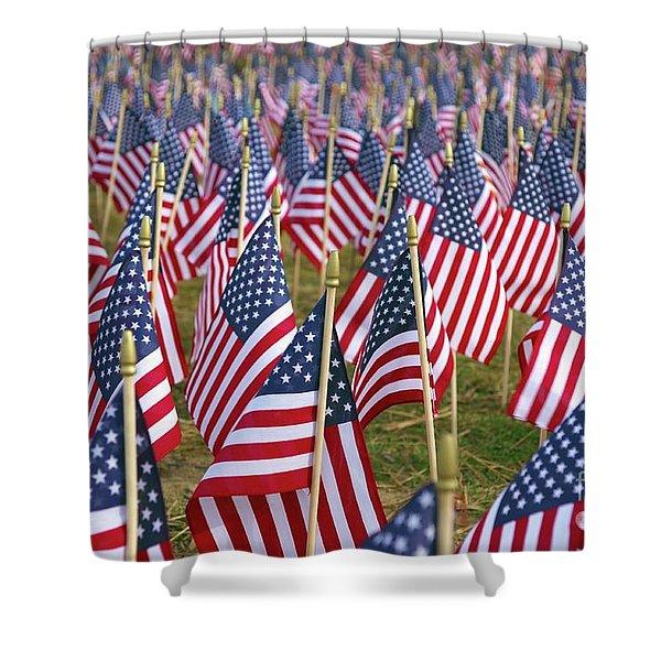 Our Unforgotten Freedom Shower Curtain