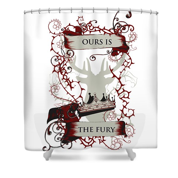 Ours Is The Fury Shower Curtain