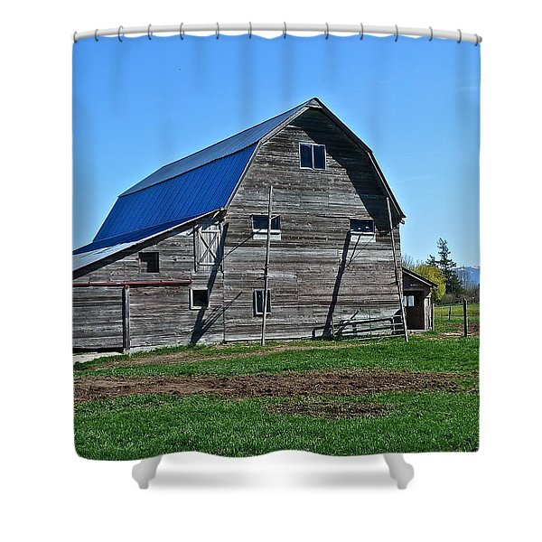 Out Back Shower Curtain
