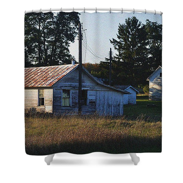 Out Building Shower Curtain