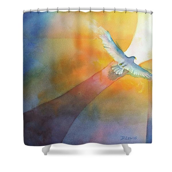Out Shower Curtain
