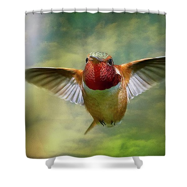 Out From The Clouds Shower Curtain
