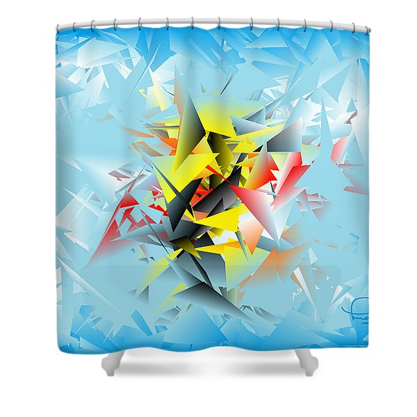Out Of The Blue 5 Shower Curtain