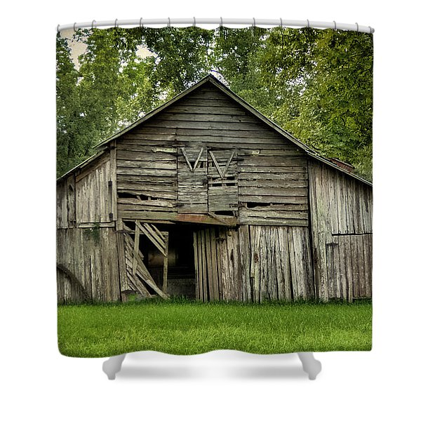 Out Of The Past Shower Curtain