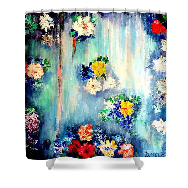 Out Of Time II Shower Curtain