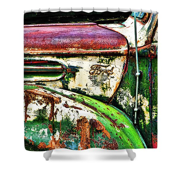 Out Of Warrantee Shower Curtain