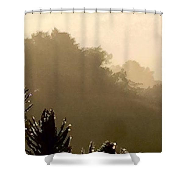 Out The Front Door Shower Curtain