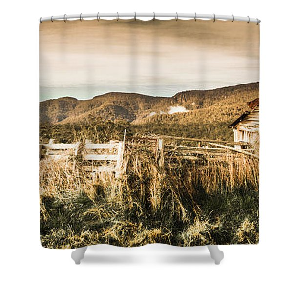 Outback Obsolescence  Shower Curtain