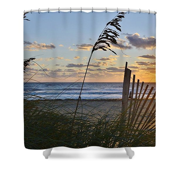 Outer Banks Sunrise Shower Curtain