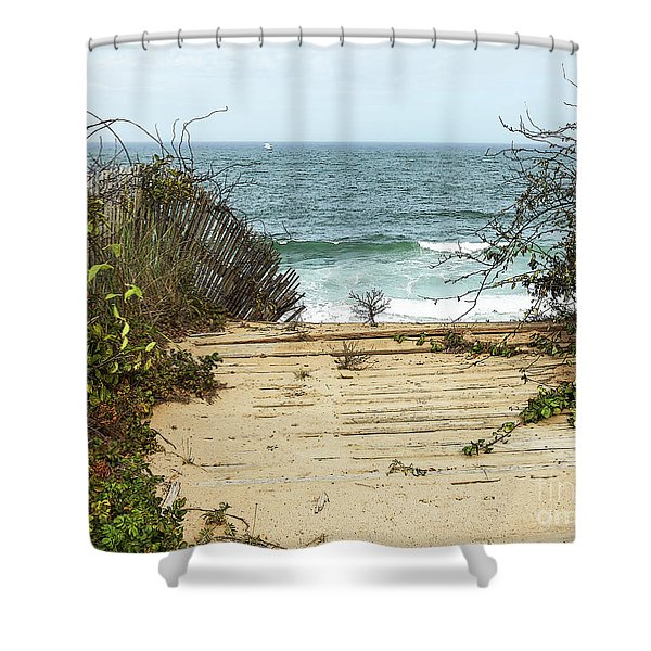 Outermost Passage Shower Curtain