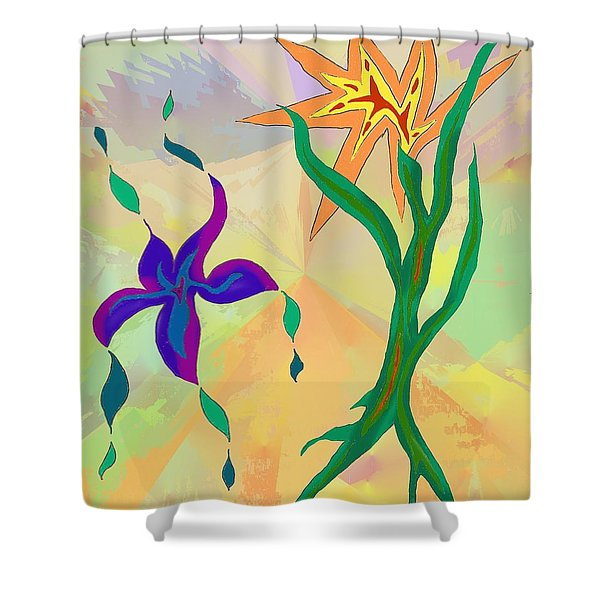Outpost Shower Curtain
