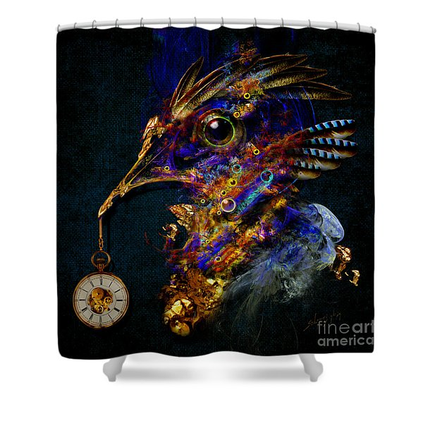 Outside Of Time Shower Curtain