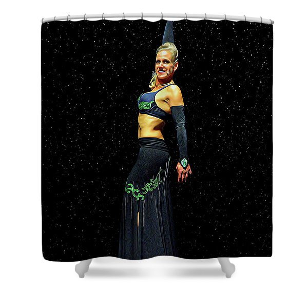 Outstanding Performance Shower Curtain