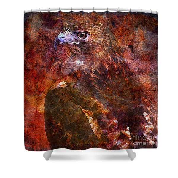 Over My Shoulder 2015 Shower Curtain