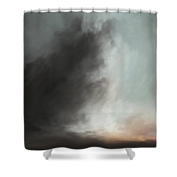 Over The Horzon Shower Curtain
