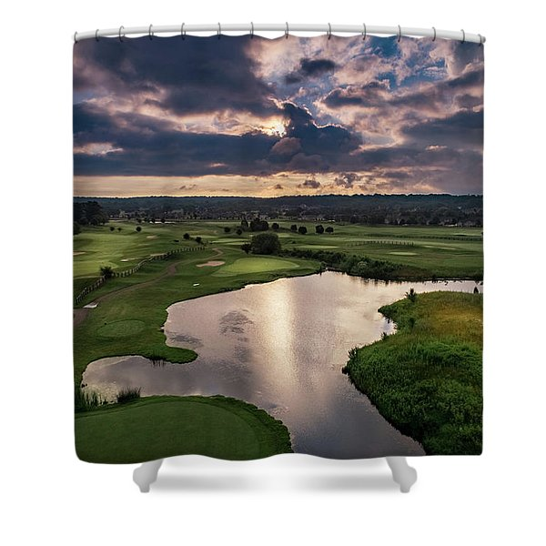 Over The Water Shower Curtain