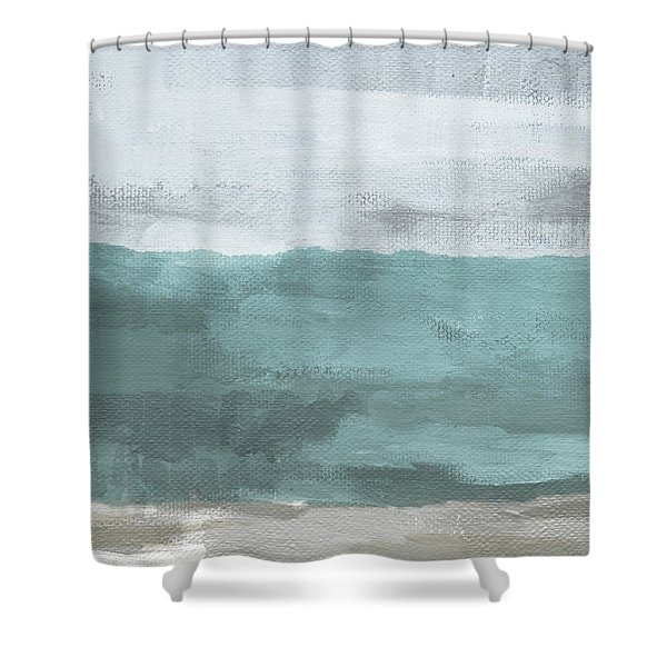 Overcast- Art By Linda Woods Shower Curtain