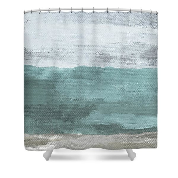 Overcast- Art By Linda Woods Shower Curtain