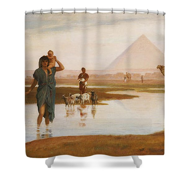 Overflow Of The Nile Shower Curtain